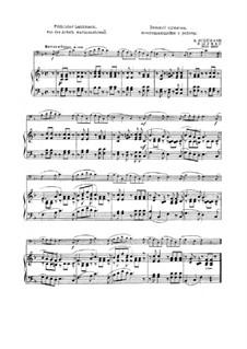 Nr.10 Fröhlicher Landmann: Für Fagott und Klavier by Robert Schumann