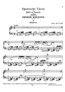 Playera, Op.23: Playera by Pablo de Sarasate