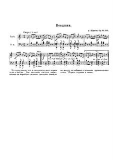 Nr.8 Wilder Reiter: Für Trompete und Klavier by Robert Schumann
