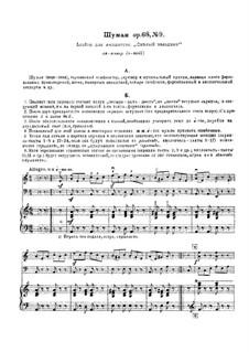 Nr.8 Wilder Reiter: Für Klaviertrio by Robert Schumann