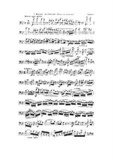 Morceaux de concours, Op.130: No.1 for Double Bass and Piano – Double Bass Part by Victor Frédéric Verrimst