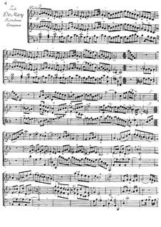 La de May for Violin and Harpsichord: La de May for Violin and Harpsichord by Jacques Duphly