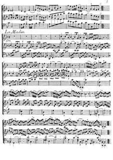 La Madin for Violin and Harpsichord: La Madin for Violin and Harpsichord by Jacques Duphly
