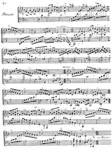 Menuett in D-Dur: Menuett in D-Dur  by Jacques Duphly