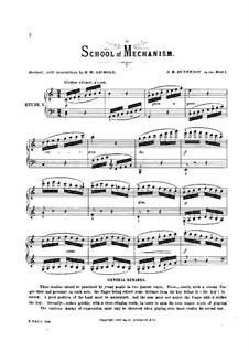 School of Mechanism, Op.120: Nr.1-5 by Jean Baptiste Duvernoy