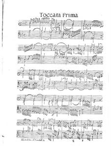 Toccaten für Cembalo und Orgel: Heft II by Girolamo Frescobaldi
