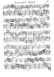 Toccaten für Cembalo und Orgel: Buch I by Girolamo Frescobaldi