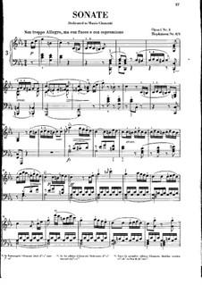 Sonaten für Klavier, H.8 Op.1: Sonate Nr.3 in c-Moll by John Field