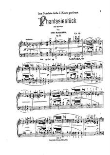 Fantasiestück, Op.14: Fantasiestück by Otto Floersheim