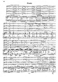 Klavierquntett Nr.2 in A-Dur, B.155 Op.81: Teil IV by Antonín Dvořák