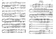 Die Jüdin: Akt V, für Stimmen und Klavier by Fromental Halevy