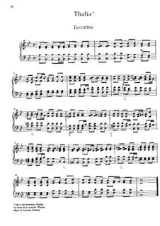 Musikalischer Parnassus: Suite Nr.4 'Thalia' by Johann Caspar Ferdinand Fischer