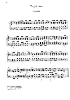Musikalischer Parnassus: Suite Nr.7 'Terpsichore' by Johann Caspar Ferdinand Fischer