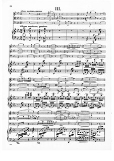 Klavierquartett Nr.2 in Es-Dur, B.162 Op.87: Teil III by Antonín Dvořák