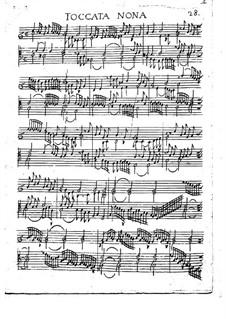 Toccaten für Cembalo und Orgel: Heft I, Toccata Nr.9 by Girolamo Frescobaldi