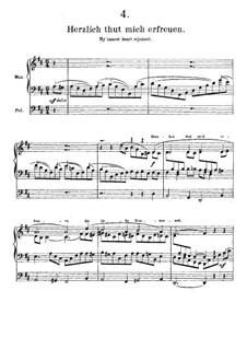 Elf Choralvorspiele Präludien, Op.122: Nr.9 Herzlich tut mich verlangen by Johannes Brahms