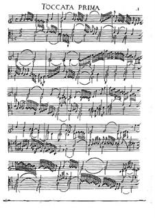 Toccaten für Cembalo und Orgel: Heft I, Toccata Nr.1 by Girolamo Frescobaldi