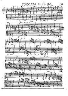 Toccaten für Cembalo und Orgel: Heft I, Toccata Nr.7 by Girolamo Frescobaldi