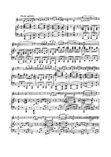 Sonate für Violine und Klavier Nr.3 in d-Moll, Op.108: Teil IV by Johannes Brahms