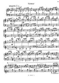 Suite über den Namen 'Sacha', Op.2: Scherzo by Alexander Glazunov