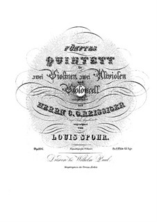 Streichquintett Nr.5 in g-Moll, Op.106: Streichquintett Nr.5 in g-Moll by Louis Spohr