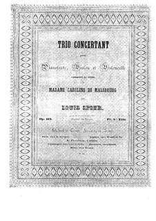 Klaviertrio Nr.1 in e-Moll, Op.119: Klaviertrio Nr.1 in e-Moll by Louis Spohr