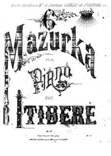 Masurka Nr.6 in E-Dur, Op.31: Masurka Nr.6 in E-Dur by Brasílio Itiberê da Cunha