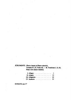Capriccio für Klavier (für die linke Hand) und Blechblasinstrumente: Capriccio für Klavier (für die linke Hand) und Blechblasinstrumente by Leoš Janáček