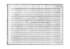 Gejstlig. Ouvertüre für Orchester und Orgel ad libitum, Op.9: Gejstlig. Ouvertüre für Orchester und Orgel ad libitum by Johann Peter Emilius Hartmann
