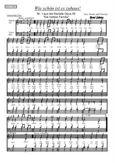 Die heitere Familie, Op.59: Nr.1 Wie schön ist es zuhaus by Bernd Gehring