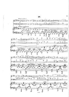 Klaviertrio Nr.2, Op.65: Teil IV by Hans Huber