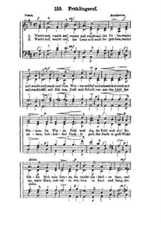 Frühlingsruf: Frühlingsruf by Ludwig van Beethoven