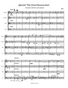 Quartet 'The Christ Resurrection', Op.3: Quartet 'The Christ Resurrection' by Hratschja Jessajan