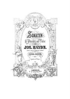 Sonate Nr.8 in G-Dur: Vollpartitur by Joseph Haydn