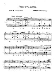 Wanderbilder, Op.17: Nr.2 Froher Wanderer by Adolf Jensen