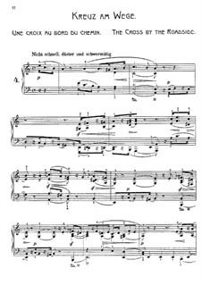 Wanderbilder, Op.17: Nr.4 Kreuz am Wege by Adolf Jensen