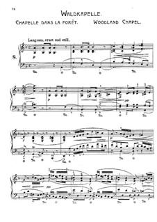 Wanderbilder, Op.17: Nr.8 Waldkapelle by Adolf Jensen