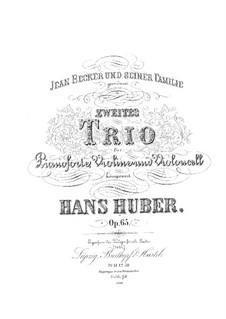 Klaviertrio Nr.2, Op.65: Teil I by Hans Huber