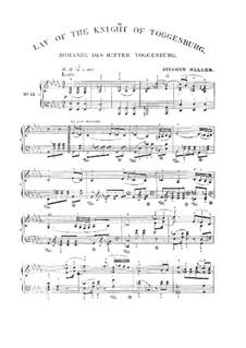 Romanze vom Ritter Toggenburg: Romanze vom Ritter Toggenburg by Franz Schubert
