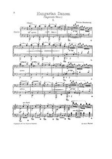 Nr.1-10: Für Klavier (Version von M. Moszkowski) by Johannes Brahms