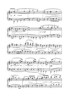 L'Organiste. Neunundfünfzig Stücke für Harmonium: Stück Nr.2 in C-Dur by César Franck