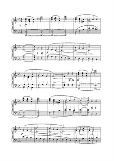 L'Organiste. Neunundfünfzig Stücke für Harmonium: Stück Nr.4 in c-Moll by César Franck