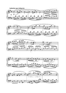 L'Organiste. Neunundfünfzig Stücke für Harmonium: Stück Nr.1 in e-Moll by César Franck