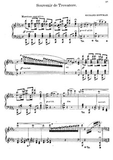 Paraphrase über 'Der Troubadour' von Verdi: Paraphrase über 'Der Troubadour' von Verdi by Richard Hoffman