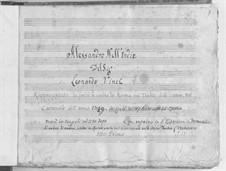 Alexander in Indien: Akt I by Leonardo Vinci