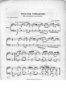 Suite Nr.5 in E-Dur, HWV 430: Teil III. Version für Klavier by Georg Friedrich Händel