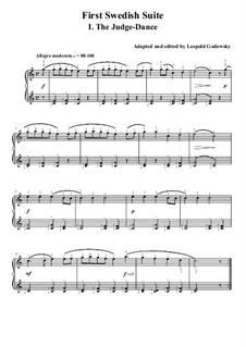 Schwedische Suite Nr.1: Für Klavier by folklore