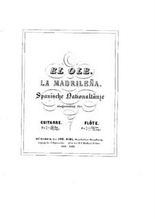 Zwei spanischer Nationaltänze, Op.89: Für Gitarre by Johann Kaspar Mertz