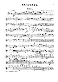 Klavierquartett in Es-Dur, Op.30: Klavierquartett in Es-Dur by Ferdinand Thieriot