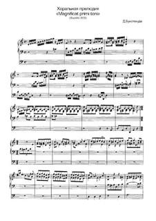 Choralpräludien und Magnificats für Orgel: Magnificat primi toni, BuxWV 203 by Dietrich Buxtehude
